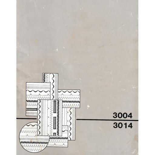 SINGER 3004 & 3014 (N) Instruction Manual (Download)