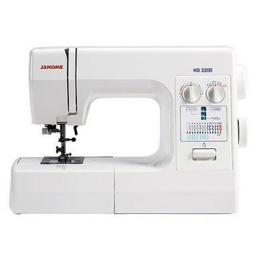 JANOME HD2200 Mechanical Free-arm Sewing Machine