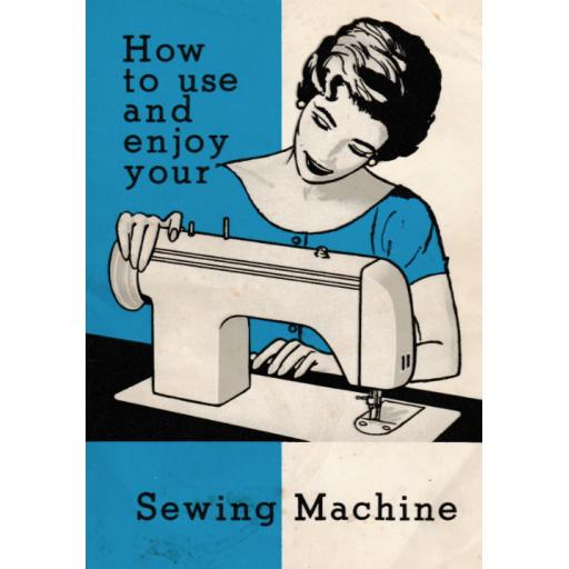 JONES Model 938 Sewing Machine Instruction Manual (Printed)