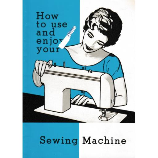 JONES BROTHER Model 949 Sewing Machine Instruction Manual (Printed)