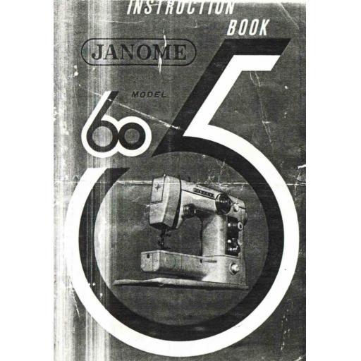 NEW HOME 605 Instruction Manual (Printed)