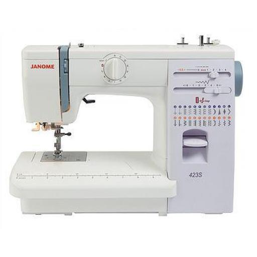 JANOME 423S Mechanical Free-arm Sewing Machine