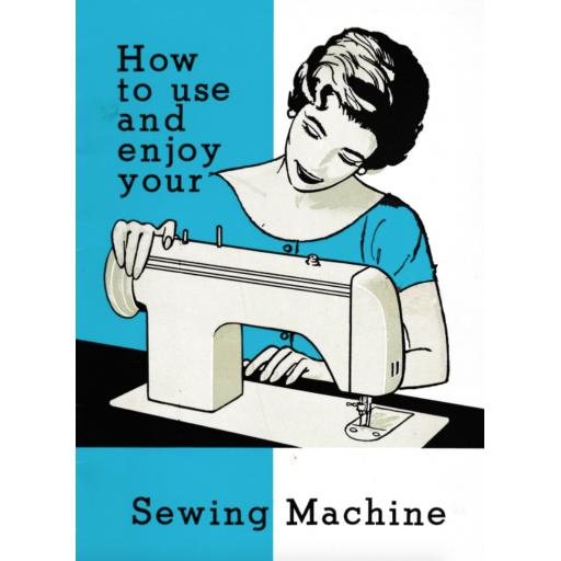 JONES BROTHER Model 171 Sewing Machine Instruction Manual (Download)