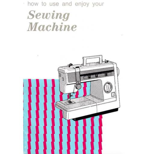 JONES BROTHER Model VX890 Sewing Machine Instruction Manual (Download)