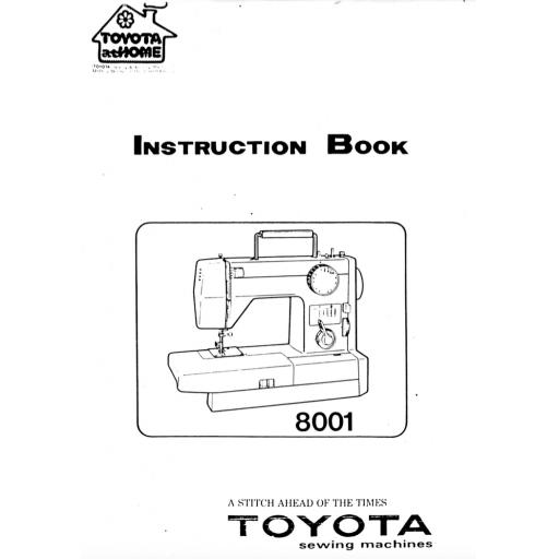 TOYOTA 8001 Instruction Manual (Download)