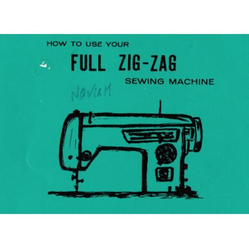NOVUM Full Zig-Zag Instruction Manual (Download)