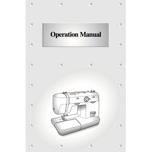 BROTHER XL5556 & XL5700 Instruction Manual (Printed)