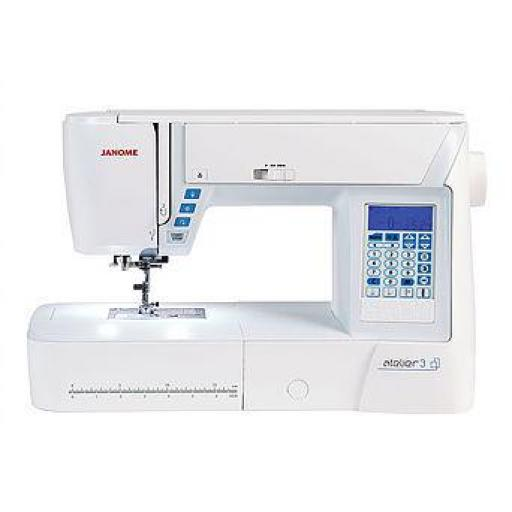 JANOME Atelier 3 Computerised Free-arm Sewing Machine