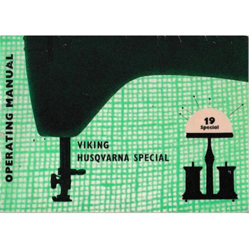 HUSQVARNA/VIKING 19 'Special' Instruction Manual (Download)