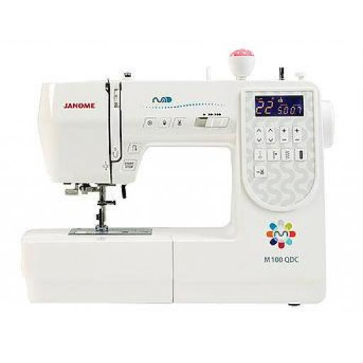 JANOME M100 QDC Computerised Free-arm Sewing Machine