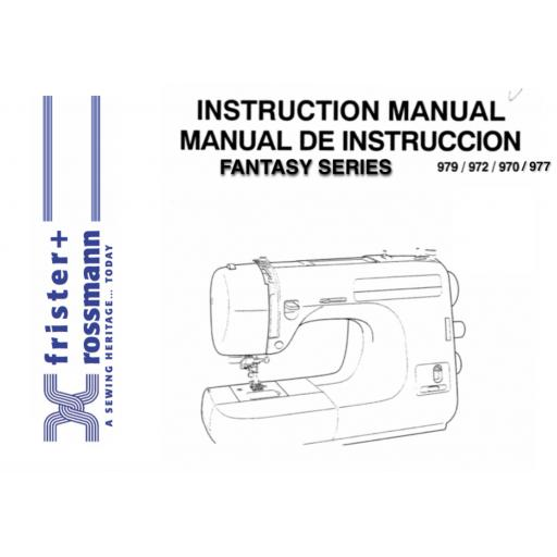 Frister + Rossmann Fantasy Instruction Manual (Printed)