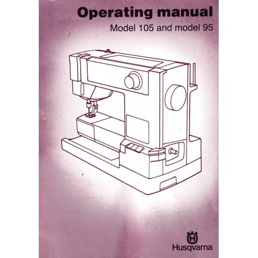 HUSQVARNA Classica 95 & 105 Instruction Manual (Printed)