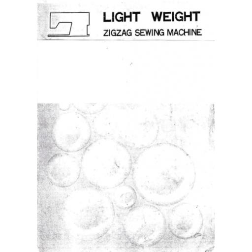 CROWN POINT Models SZA-705, SZA-707, SZA-708 & SZA-708-BH Instructions (Printed)