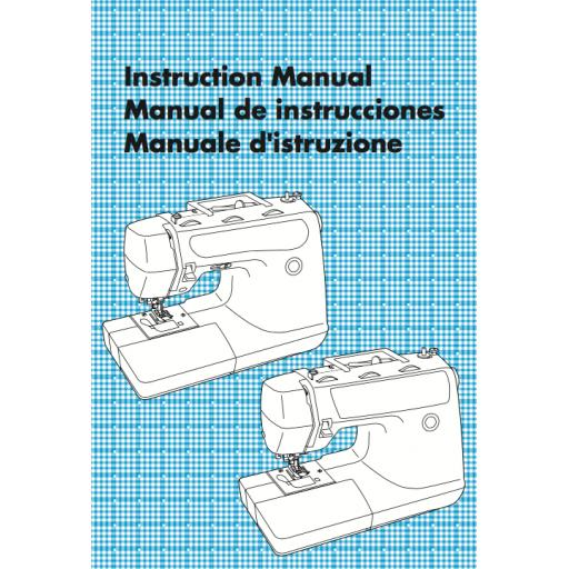 BROTHER PS 53, PS55 & PS57 + Star 230 & 240 Instruction Manual (Printed)