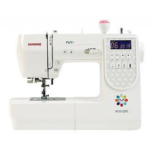 JANOME M50 QDC Computerised Free-arm Sewing Machine