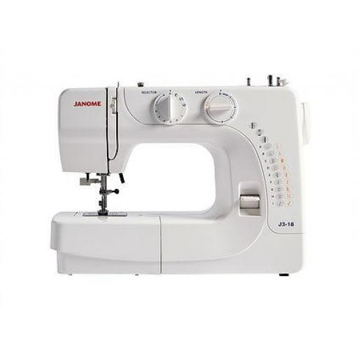 JANOME J3-18 Mechanical Free-arm Sewing Machine