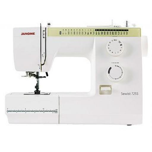 JANOME Sewist 725S Mechanical Free-arm Sewing Machine