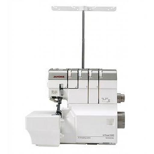 JANOME AirThread AT2000D Professional Air Threading Overlocker