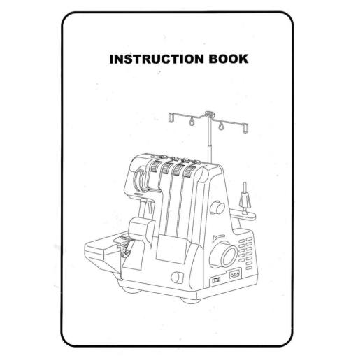 BABYLOCK 750DS Instruction Manual (printed)