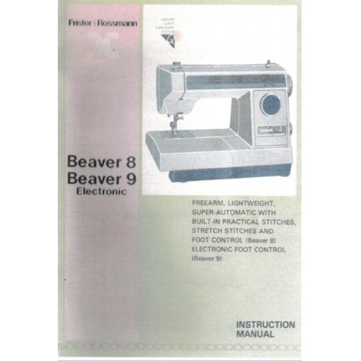 FRISTER + ROSSMANN Beaver 8 & 9 Instruction Manual (Download)