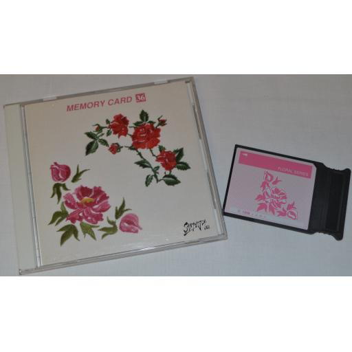 JANOME Embroidery Card No. 36 - FLORAL SERIES