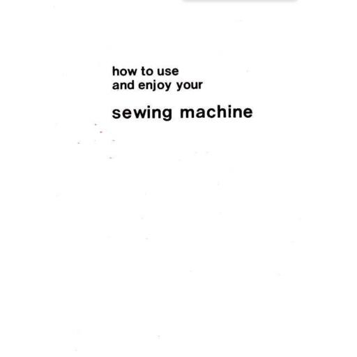 JONES BROTHER Model 674 Sewing Machine  Instruction Manual (Download)