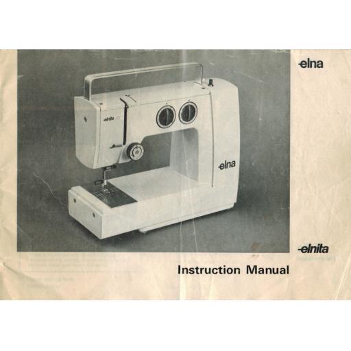 ELNA Elnita Instruction Manual (Download)