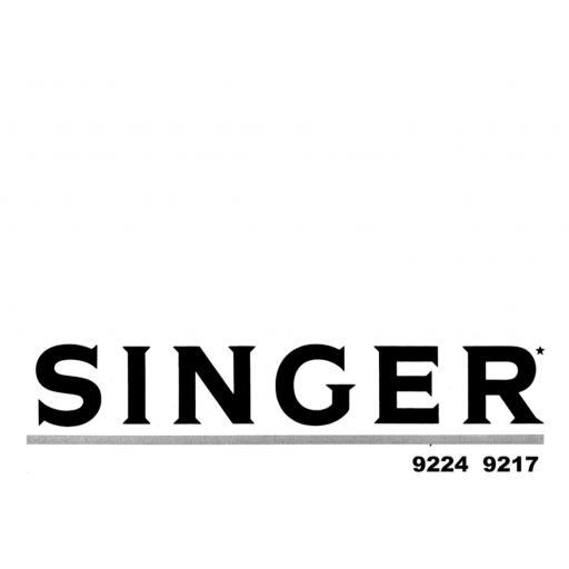 SINGER Concerto 2 & 3 Instruction Manual (Download)