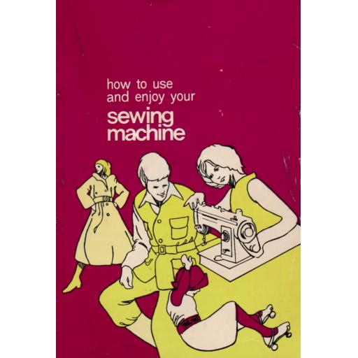 JONES BROTHER Model 671 Sewing Machine Instruction Manual (Printed)