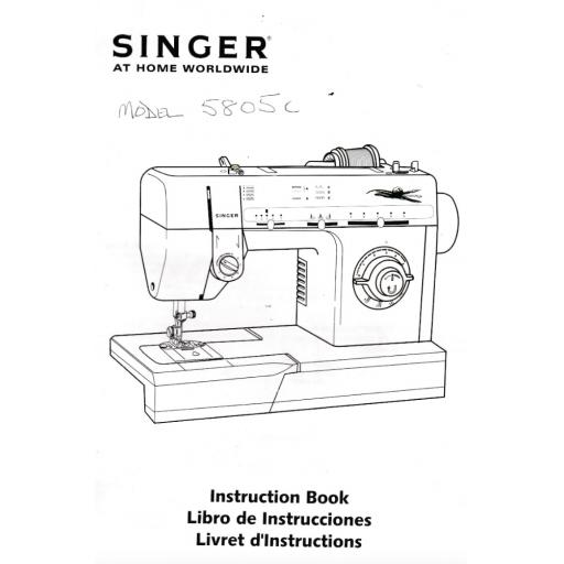 SINGER 5805C Instruction Manual (Download)