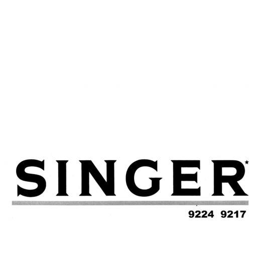 SINGER Concerto 3 Instruction Manual (Download)