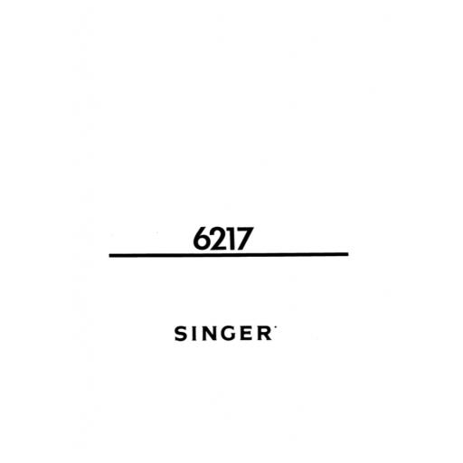 SINGER Samba 6 Instruction Manual (printed copy)