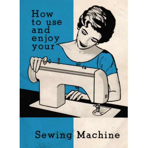 JONES BROTHER Model 881 Sewing Machine  Instruction Manual (Printed)