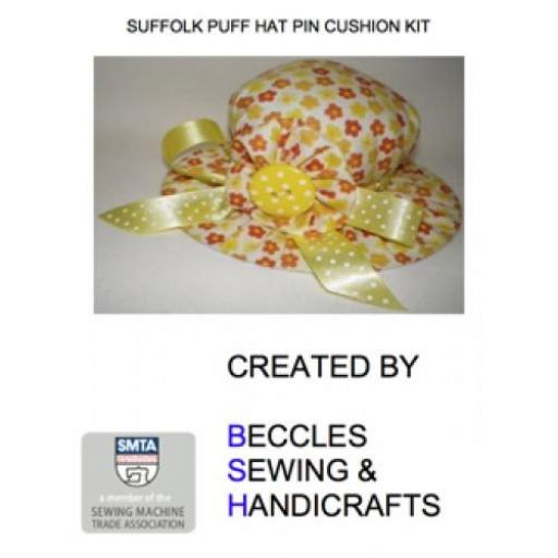 SUFFOLK PUFF HAT PIN CUSHION KIT