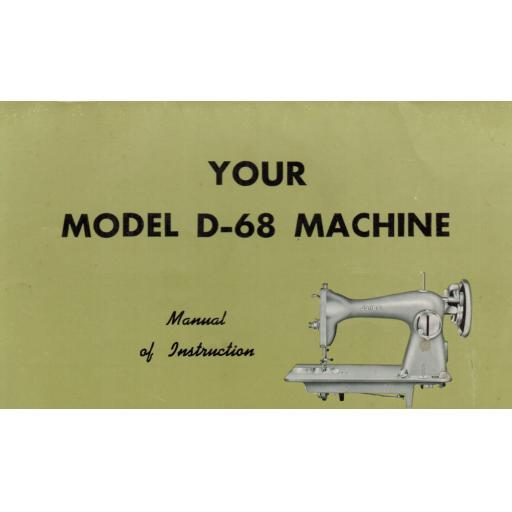 Jones D-68 Instruction Manual (Download)