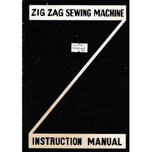 NECCHI Sewline 20 Instruction Manual (Printed)
